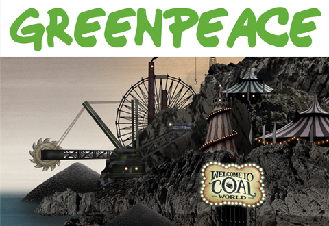Greenpeace Coal World